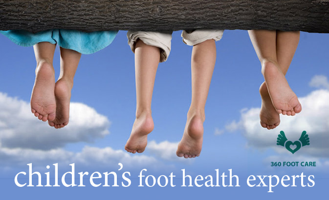 children's foot problems